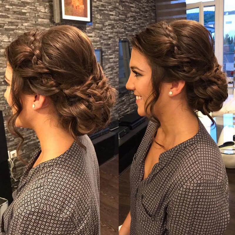 2162ed675c3a Svadobný účes - hairstyling na svadbu - úprava vlasov pre nevestu a ...