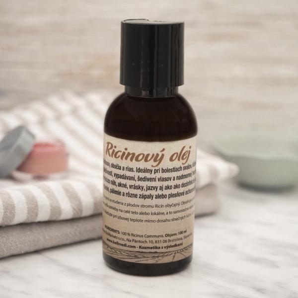 Ricnový olej - kozmetická vychtávka